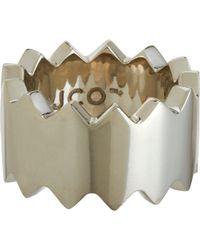Juan Carlos Obando | Metallic Silver Medium Saw Blade Ring | Lyst