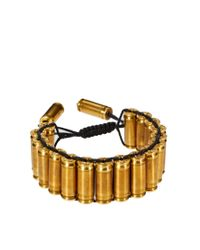 Love Bullets | Metallic Bullet Bracelet for Men | Lyst