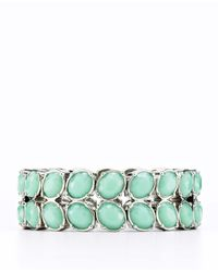 Ann Taylor | Metallic Petal Stretch Bracelet | Lyst