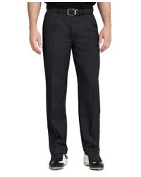 Brooks Brothers | Black St Andrews Links Pleat-front Golf Pants for Men | Lyst