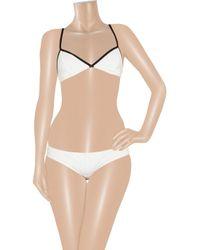 Lisa Marie Fernandez - White The Giovanna Bikini - Lyst