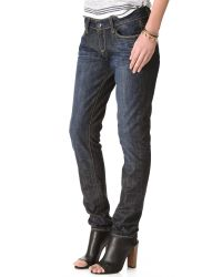 PAIGE   Blue Jimmy Jimmy Slouchy Skinny Jeans   Lyst