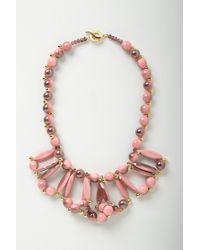 Anthropologie | Pink Color Loop Bib | Lyst