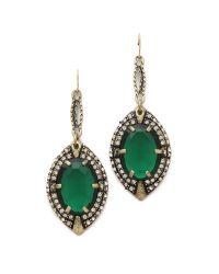 Lulu Frost - Green Absinthe Earrings - Lyst
