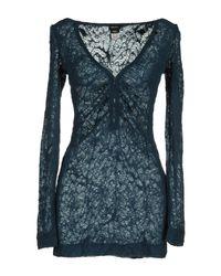 Miss Sixty - Blue Long Sleeve Top - Lyst