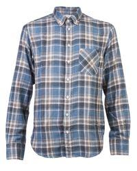 Rag & Bone | Blue Plaid Shirt for Men | Lyst
