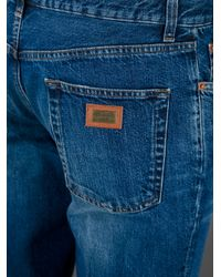 Dolce & Gabbana | Blue Straight Leg Jean for Men | Lyst