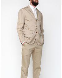 Apolis | Standard Issue Civilian Blazer in Khaki for Men | Lyst