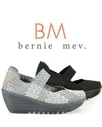 Bernie Mev   Gray Lulia Maryjane Comfort Shoe in Silver   Lyst