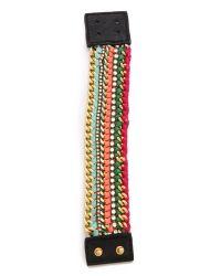 CC SKYE - Multicolor Camp Skye Woven Bracelet - Lyst