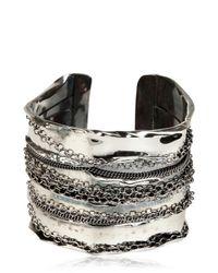 Emanuele Bicocchi | Metallic Chain Cuff Bracelet | Lyst