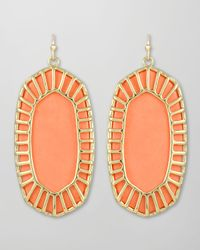 Kendra Scott | Metallic Delilah Large Drop Earrings | Lyst