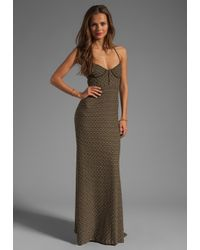 L*Space | Green Isabel Maxi Dress | Lyst