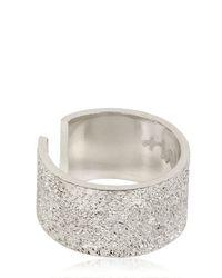 Maria Francesca Pepe | Metallic Midi Pinky Ring | Lyst