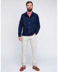 Mark McNairy New Amsterdam   White Short Sleeve Gingham Fun Shirt for Men   Lyst