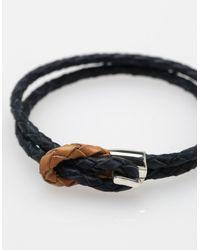 Miansai - Blue Savoy Leather for Men - Lyst