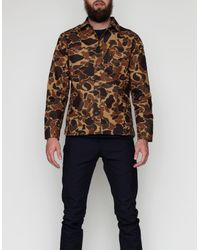 Rogue Territory | Natural Drake Camo Work Shirt for Men | Lyst
