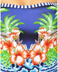 Seafolly | Multicolor Aloha Bandeau Swimsuit | Lyst