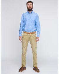 Gant Rugger - Blue Selvage Madras for Men - Lyst