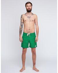Saturdays NYC - Green Schulze Stripe Trunk for Men - Lyst
