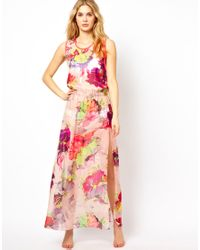 Ted Baker | Multicolor Twist Back Maxi Cover Up | Lyst