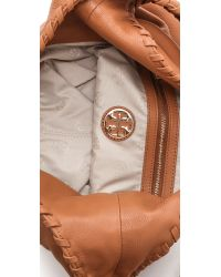 Tory Burch - Brown Marion Hobo - Lyst