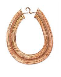 Tuleste - Metallic Multi Chain Necklace - Lyst