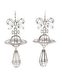 Vivienne Westwood - Metallic 3D Earring - Lyst