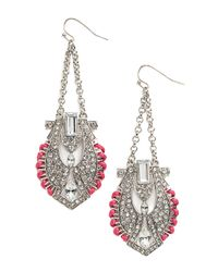 BaubleBar | Metallic Horus Drop Earrings | Lyst