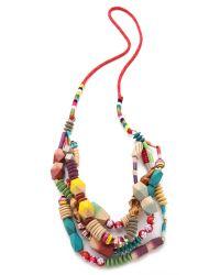 Bluma Project - Multicolor Bati Necklace - Lyst