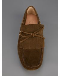 Car Shoe - Brown Mocassin Shoe for Men - Lyst