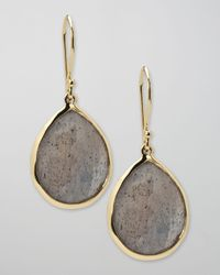 Ippolita | Metallic Labradorite Teardrop Earrings | Lyst