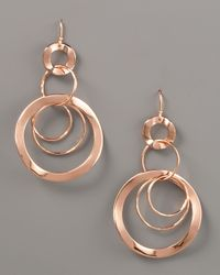 Ippolita | Metallic Wavy Circlelink Drop Earrings | Lyst