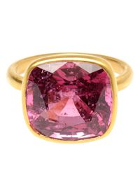 Marie-hélène De Taillac | Purple Large Spinel and 18k Gold Ring | Lyst
