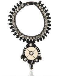 Ranjana Khan | Black Hera Collar Necklace | Lyst