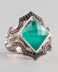 Stephen Webster | Metallic Crystal Haze Chrysoprase Ring | Lyst