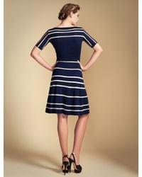 Temperley London | Blue Petra Sleeved Dress | Lyst