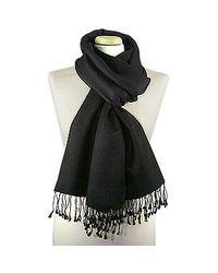 FORZIERI - Black Pashmina & Silk Shawl - Lyst
