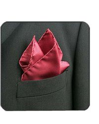 FORZIERI - Orange Silk Pocket Square - Lyst