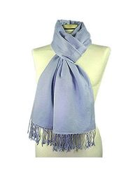 FORZIERI - Baby Blue Pashmina - Lyst