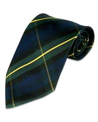 FORZIERI | Green Plaid Silk Tie for Men | Lyst