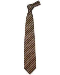 FORZIERI - Blue Regimental Extra-long Tie for Men - Lyst