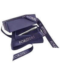 FORZIERI - Metallic Classic Silver Plated Tie Clip for Men - Lyst