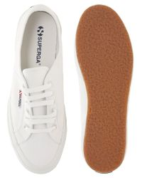Superga | White 2750 Canvas Plimsolls for Men | Lyst