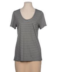 L.K.Bennett | Gray Short Sleeve T-shirt | Lyst