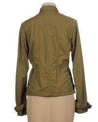 Adhoc - Green Jacket - Lyst