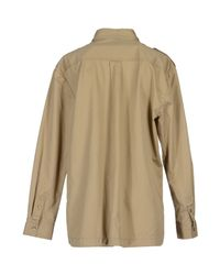 By Malene Birger - Natural Long Sleeve Shirt - Lyst