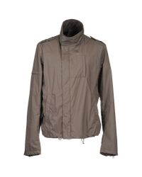 Paolo Pecora - Gray Jackets for Men - Lyst