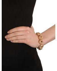 BaubleBar | Metallic Silver Knot Bracelet | Lyst