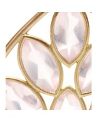 Jamie Wolf | Metallic 18Kt Yellow Gold Acorn Earrings With Marquis- Rose Quartz | Lyst